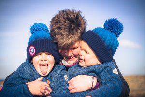 Fun family photos Aberdeenshire