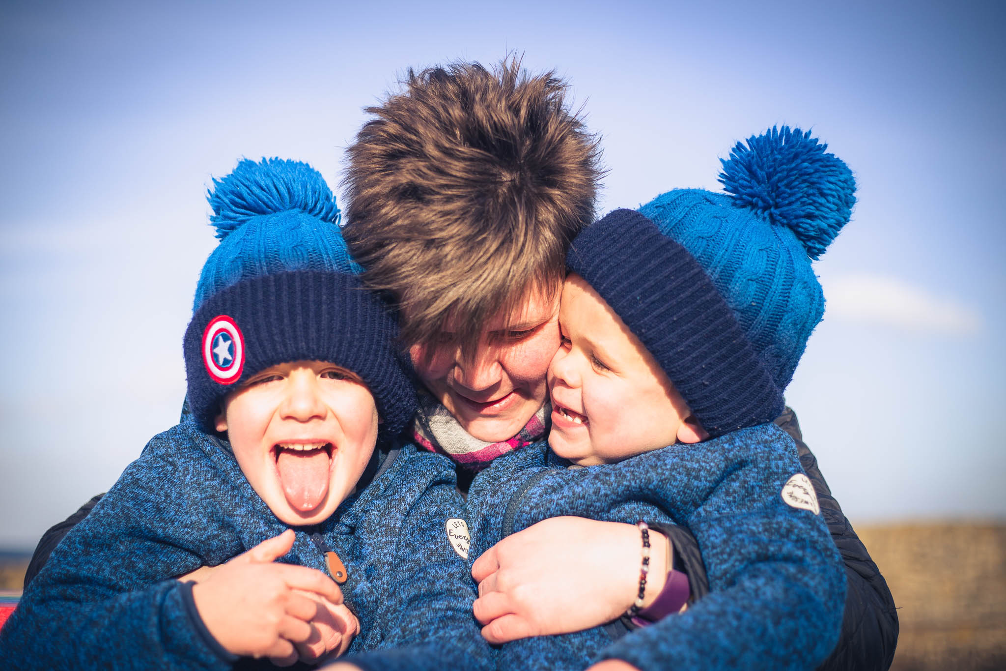 Fun family photos Aberdeenshire