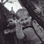 kids having fun family photography Aberdeenshire