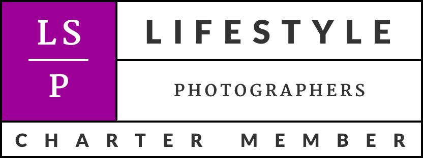 Lifestyle photographer association charter member badge